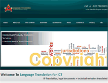 Tablet Preview of languages-ict.org.uk